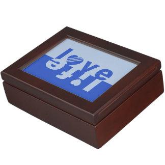 Caja de encargo del recuerdo del amor/de la vida caja de recuerdos