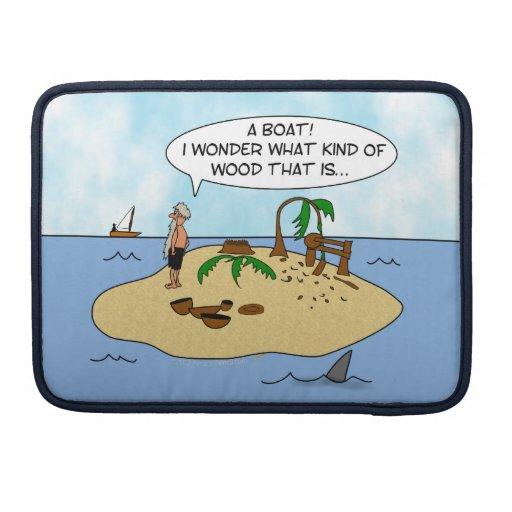 Caja de encargo divertida del aire de Woodturner M Fundas Macbook Pro