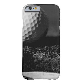 Caja de encargo negra y blanca del iPhone 6 de la Funda De iPhone 6 Barely There