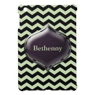 Caja de encargo personalizada del color de Chevron iPad Mini Carcasas