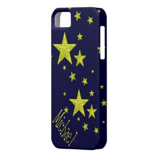 caja de encargo personalizada estrella estupenda d iPhone 5 Case-Mate cárcasas