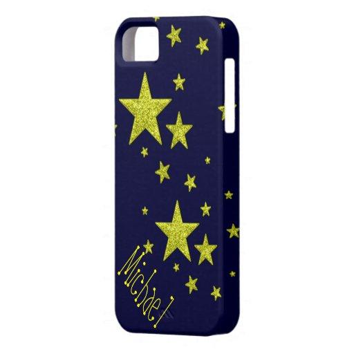 caja de encargo personalizada estrella estupenda iPhone 5 Case-Mate cárcasas