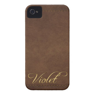 Caja de encargo VIOLETA del teléfono celular de la iPhone 4 Case-Mate Cárcasas