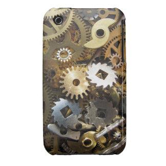 Caja de engranaje de Steampunk Carcasa Para iPhone 3