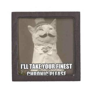 Caja de gato de lujo de la deshuesadora caja de regalo de calidad