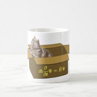 Caja de gato de Schrodinger Taza