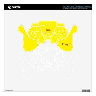 Caja de goma del regulador de las crepes PS3 Skins Para Mandos PS3