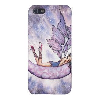Caja de hadas violeta del iPhone iPhone 5 Fundas