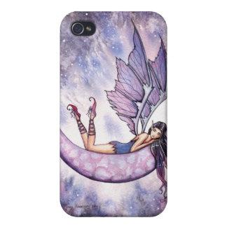 Caja de hadas violeta del iPhone iPhone 4 Protector
