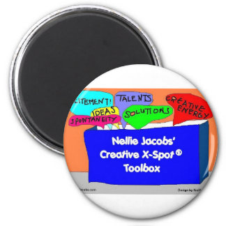 Caja de herramientas creativa de X-Spot® Imán De Frigorifico