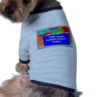 Caja de herramientas creativa de X-Spot® Camisetas Mascota