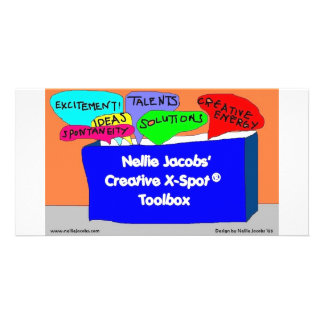 Caja de herramientas creativa de X-Spot® Tarjeta Fotográfica