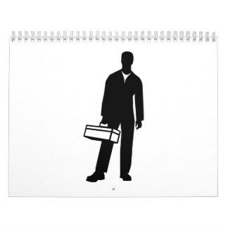 Caja de herramientas del artesano calendarios de pared