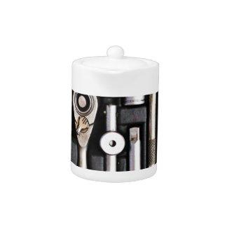 Caja de herramientas del trabajo - impresión