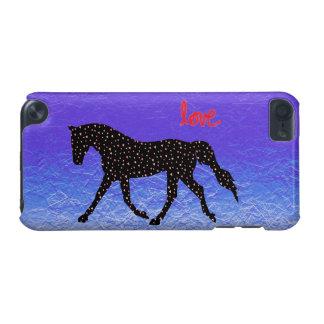 Caja de iPod 5 del caballo, del amor y de los cora
