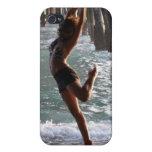 CAJA DE IPOD:  Bailarín en el océano iPhone 4 Carcasas