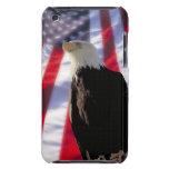 Caja de iPod de American Eagle y de la bandera Barely There iPod Carcasas