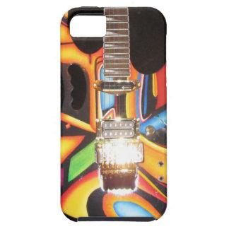 Caja de iPod de la guitarra de Brett Ellis iPhone 5 Fundas