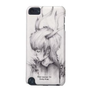 Caja de iPod de la mujer de los ciervos