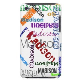 Caja de iPod de la pintada de Madison Barely There iPod Protector