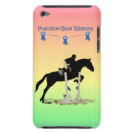 Caja de iPod de las cintas de Practice=Blue iPod Touch Case-Mate Fundas