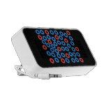 Caja de iPod de los círculos Mini Altavoz