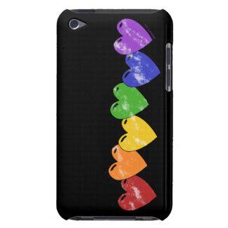 Caja de iPod de los corazones del orgullo gay Case-Mate iPod Touch Cobertura