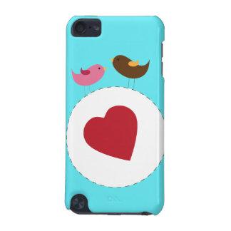 Caja de iPod de los pájaros del amor
