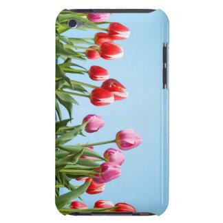 Caja de iPod de los tulipanes de la primavera Barely There iPod Cobertura