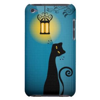 Caja de iPod del gato negro Cubierta Para iPod De Barely There