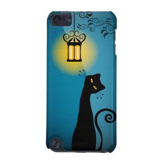 Caja de iPod del gato negro Funda Para iPod Touch 5G