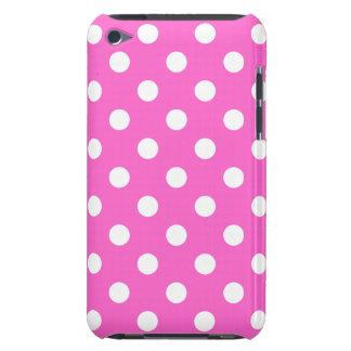 Caja de IPod del lunar del rosa color de rosa Case-Mate iPod Touch Carcasa