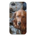Caja de iPod del perro de ejército iPhone 4/4S Carcasas