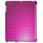 Caja de iPod del rosa de la placa del diamante