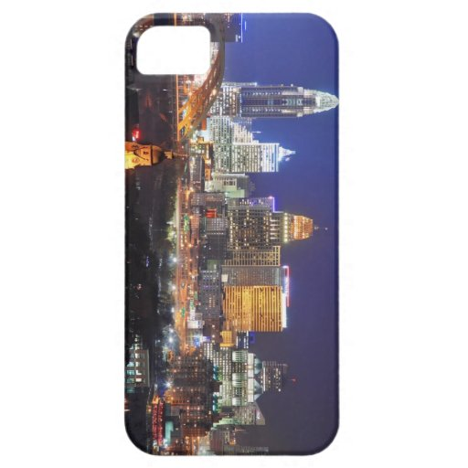Caja de IPod que ofrece el horizonte de Cincinnati iPhone 5 Case-Mate Carcasa