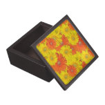 Caja de Jewlery de la flor de la margarita Caja De Regalo De Calidad