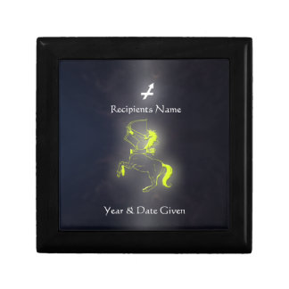 Caja de joyería de la colección del zodiaco del sa caja de joyas