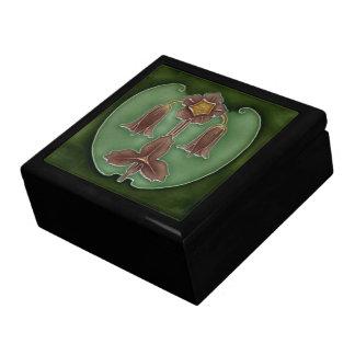 Caja de joyería hermosa de Nouveau del arte Caja De Joyas