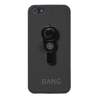Caja de la arma de mano 3D IPhone 5 iPhone 5 Fundas