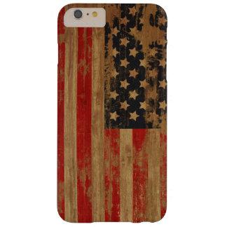 Caja de la bandera americana funda de iPhone 6 plus barely there