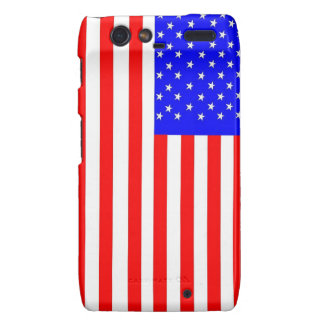 Caja de la bandera de América cerca: da'vy Droid RAZR Fundas
