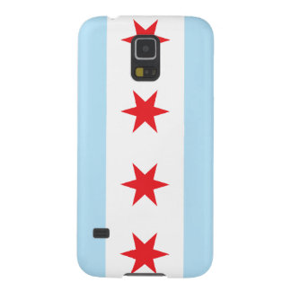 Caja de la bandera de Chicago para el nexo de la Carcasa Para Galaxy S5
