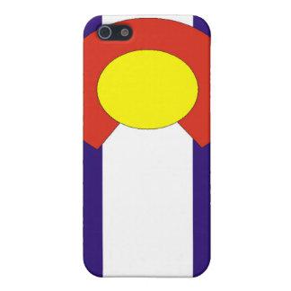Caja de la bandera de Colorado iPhone 5 Fundas