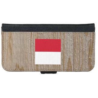 Caja de la bandera de Indonesia del diseñador Carcasa De iPhone 6