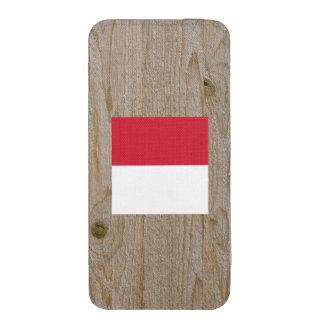 Caja de la bandera de Indonesia del diseñador Funda Para iPhone 5