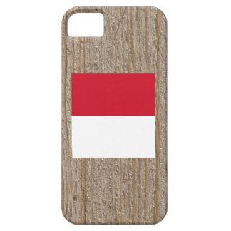 Caja de la bandera de Indonesia del diseñador Funda Para iPhone 5 Barely There