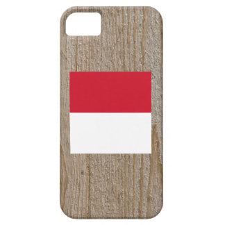 Caja de la bandera de Indonesia del diseñador iPhone 5 Fundas