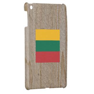 Caja de la bandera de Lituania del diseñador