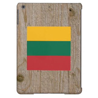 Caja de la bandera de Lituania del diseñador Funda Para iPad Air