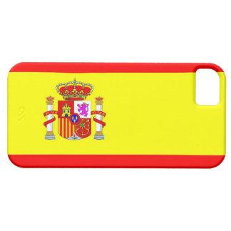 caja de la bandera de país de España iPhone 5 Protector